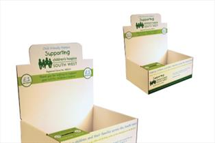 Walton Charity Box Counter Display - Bladen Box & Display