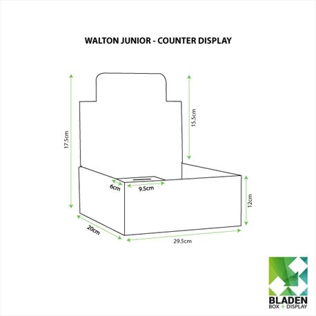 Walton Junior Charity Box - Line Drawings