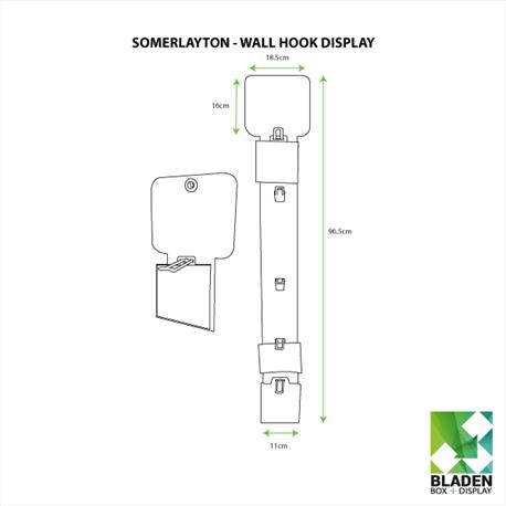 Wall Hook Display - Somerlayton Line Drawings