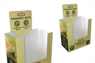 Quarter Pallet Retail Bin - Bladen Box & Display