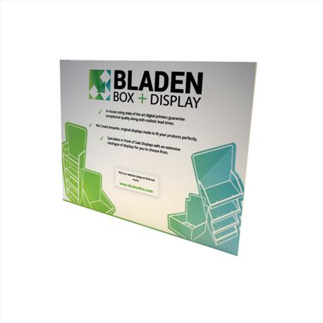 Hatfield CDU Standee - Bladen Box & Display