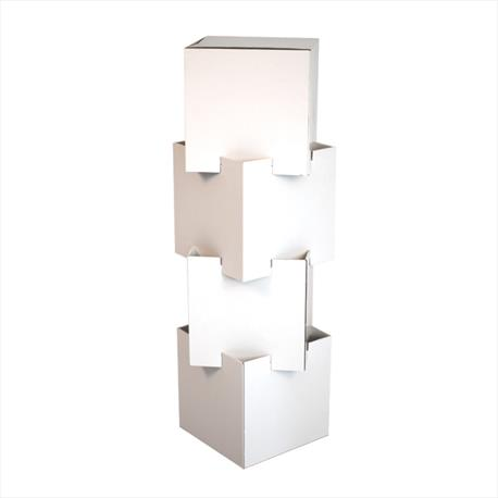 Interlocking Totem Floor Display - Bladen Box & Display