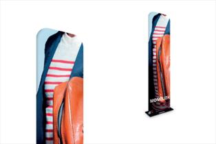Fabric Display Stands - Formulate Monolith