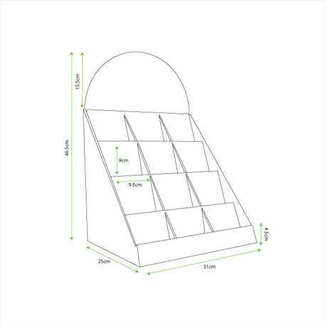 Lanlay - Cell Display - Dimensions