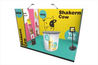 Barrington Exhibition Stand - Bladen Box & Display