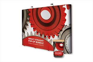 Exhibition Stands - Impact Straight Pop Up Bundle