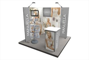 Welbeck Exhibition Stand - Bladen Box & Display