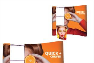 Pop Up Exhibition Stands - Quick+ Curved Pop Up Bundle